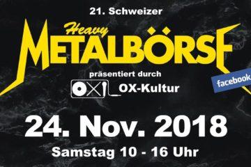 21. Schweizer Heavy Metal Börse