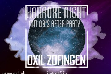Karaoke mit 80ies Party