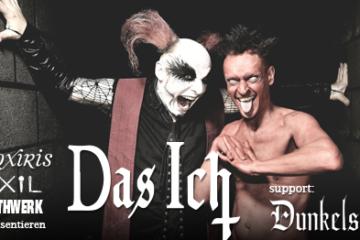 7 Jahre Gothwerk: DAS ICH & Dunkelsucht + Afterparty