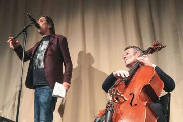 Pedro Lenz und Michael Pfeuti: Hert am Sound