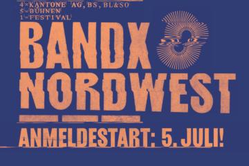Anmeldestart bandXnordwest