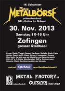 16. Schweizer Heavy-Metal-Börse im Stadtsaal
