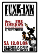 FUNK-INN live special mit The Lovejoys