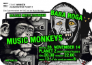 Baba Roga & Music Monkeys im Planet Z